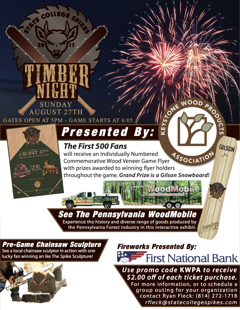 Timber Night @ Medlar Field at Lubrano Park, State College, PA 16801
